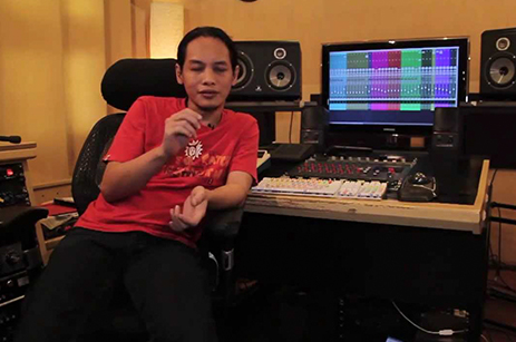 Indra Qadarsih (Sound Engineer, BIP Keyboardist - INA)